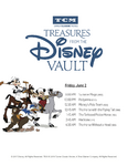 Treasures from The Disney Vault June 2017 Schedule