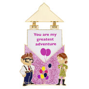 UP Carl and Ellie Love Letters Pin