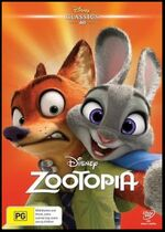 Zootopia September 2016 AUS DVD