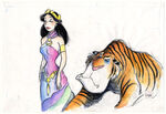 Aladdin-Concept-Art-Jasmine-and-Rajah