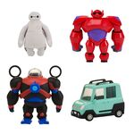 BH6 - Set Squishy White Baymax and Accessories