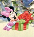 Baby Minnie Christmas Present