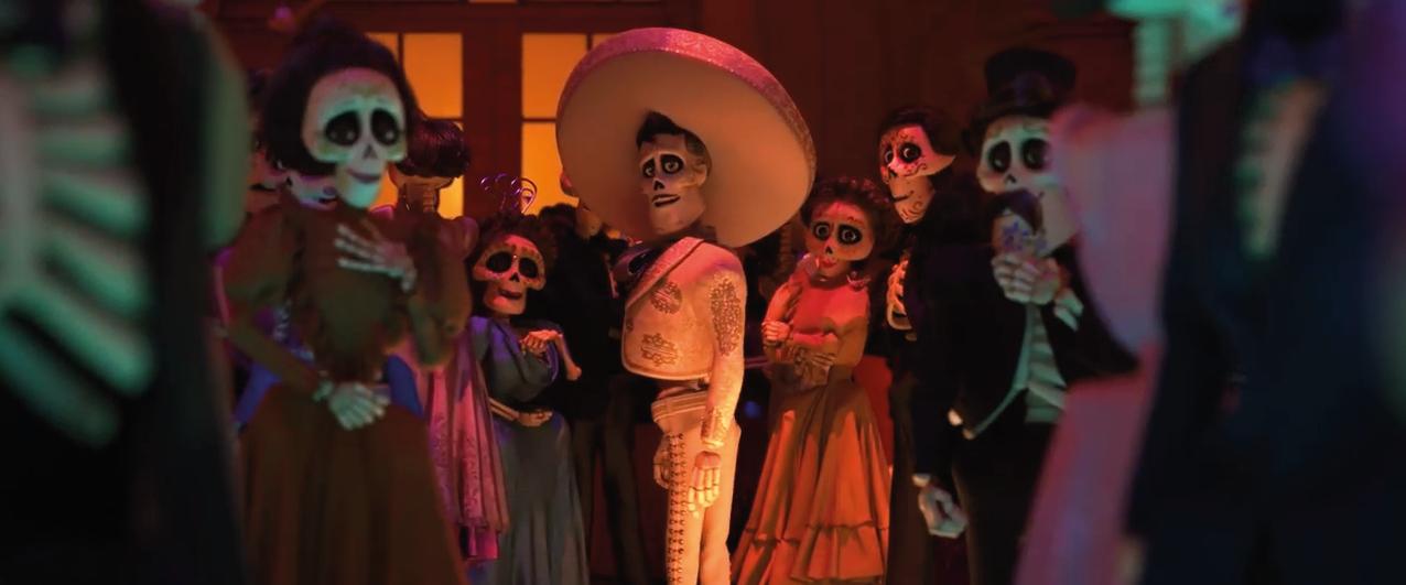 Bild - Coco Skelette auf einem Ball.png   Disney Wiki ...