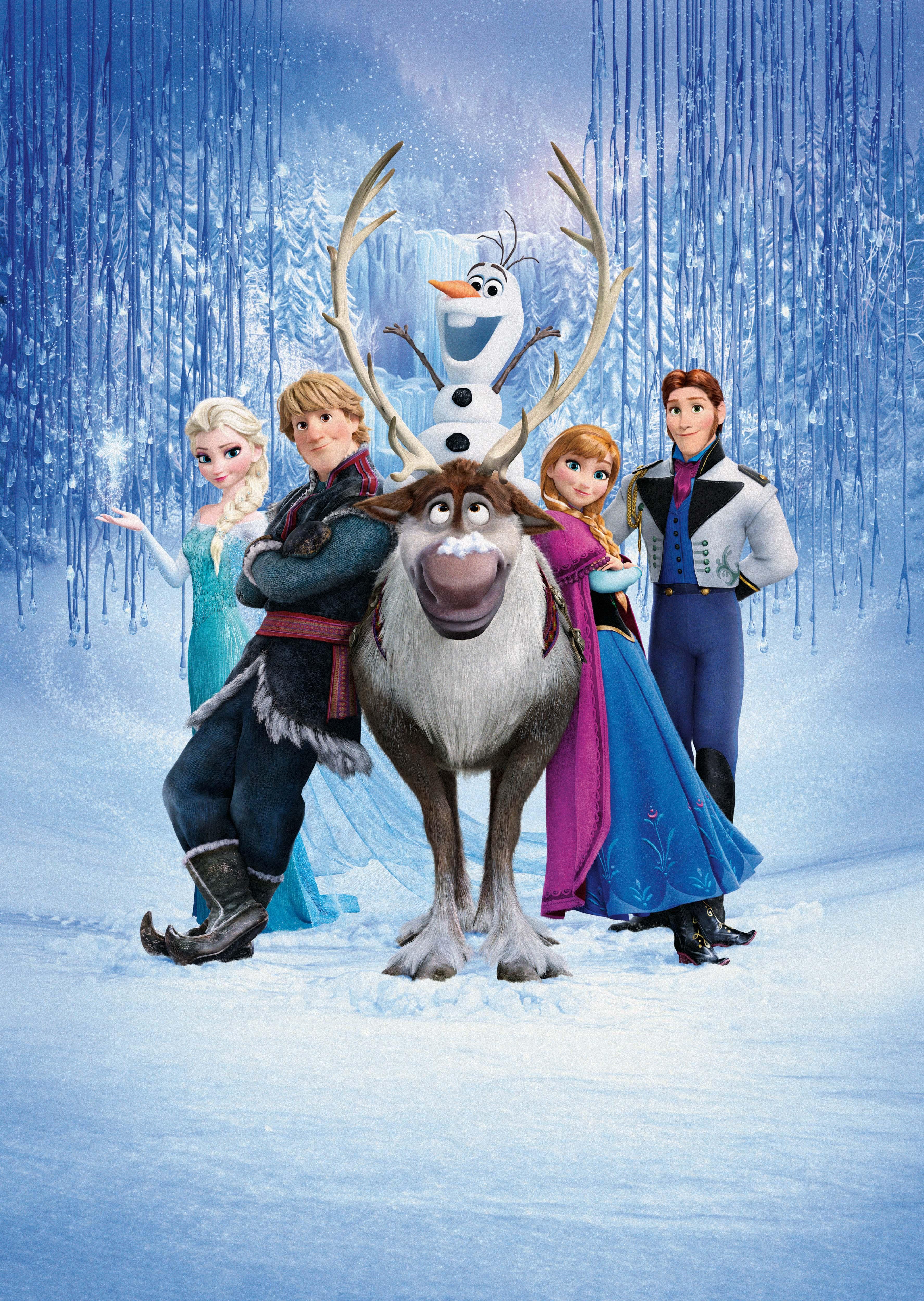 Voice Cast Frozen Castposter