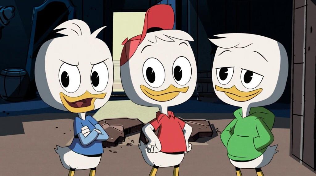 Huey Dewey And Louie In The DuckTales Reboot