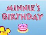 Minnie's Birthday