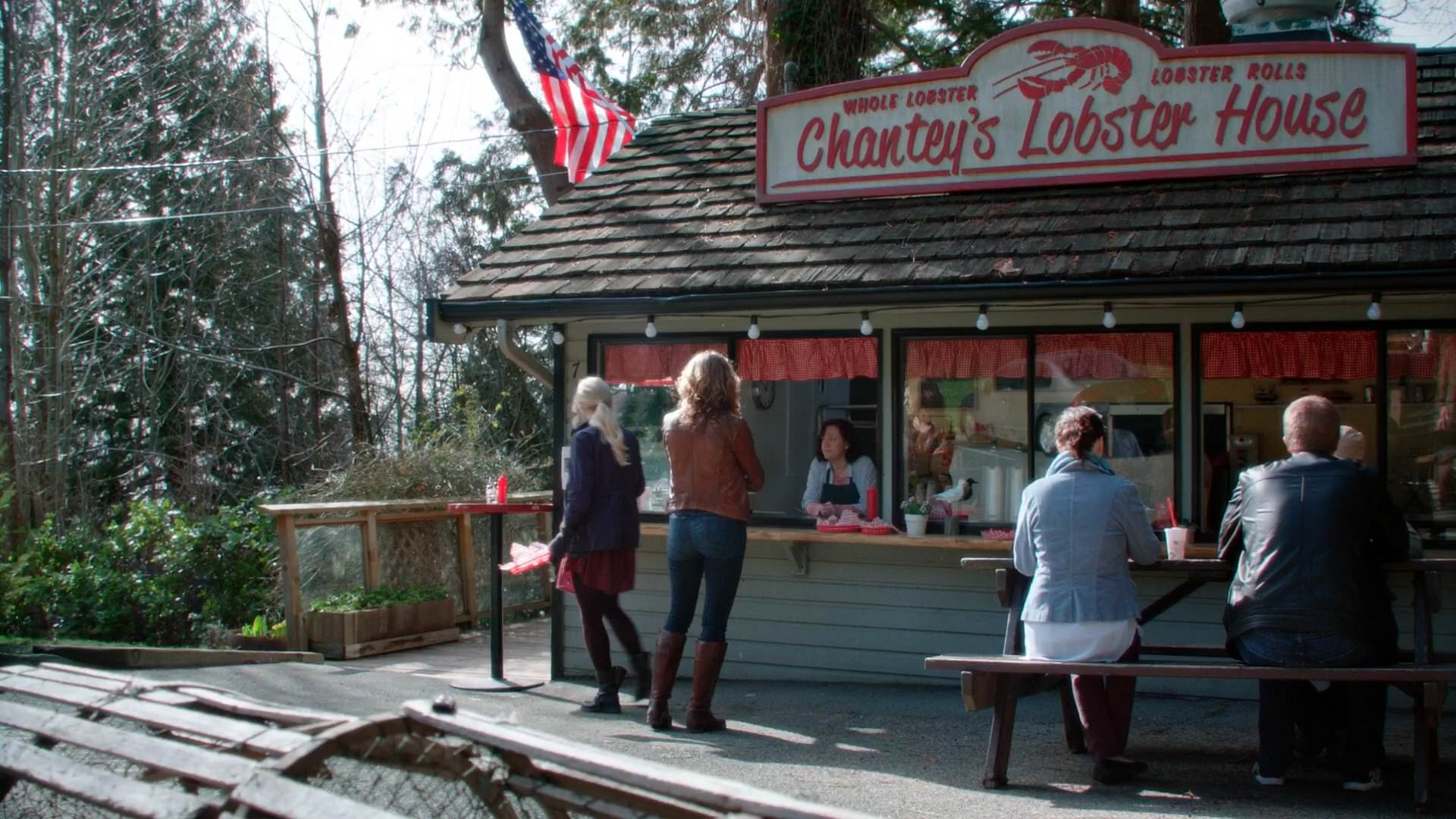 Once Upon A Time   5x20   Firebird   Chanteyu0027s Lobster House