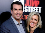 Rob Riggle with wife Tiffany