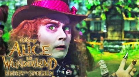ALICE IM WUNDERLAND Hinter den Spiegeln - Verrückt genug - Ab 26. Mai im Kino Disney HD