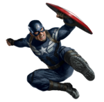 Captain America TWS-flying air kick