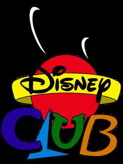 Disney Club Cartoon Logo