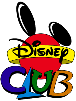 Disney Club Cartoon Logo