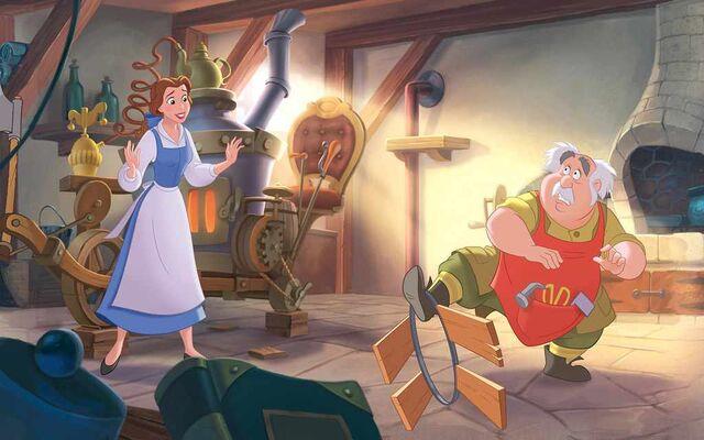 File:Disney Princess Belle's Story Illustraition 4.jpg