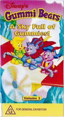 Gummi Bears A Sky Full Of Gummies 1997 AUS VHS