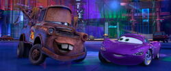 Cars 2 - Mater and Holley