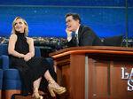 Christina Ricci visits Stephen Colbert