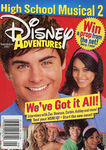 Disney Adventures Magazine cover September 2007 High School Musical 2