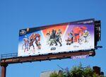 Disney Infinity 3 video game billboard
