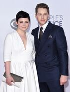 Ginnifer Goodwin & Josh Dallas Peoples Choice Awards