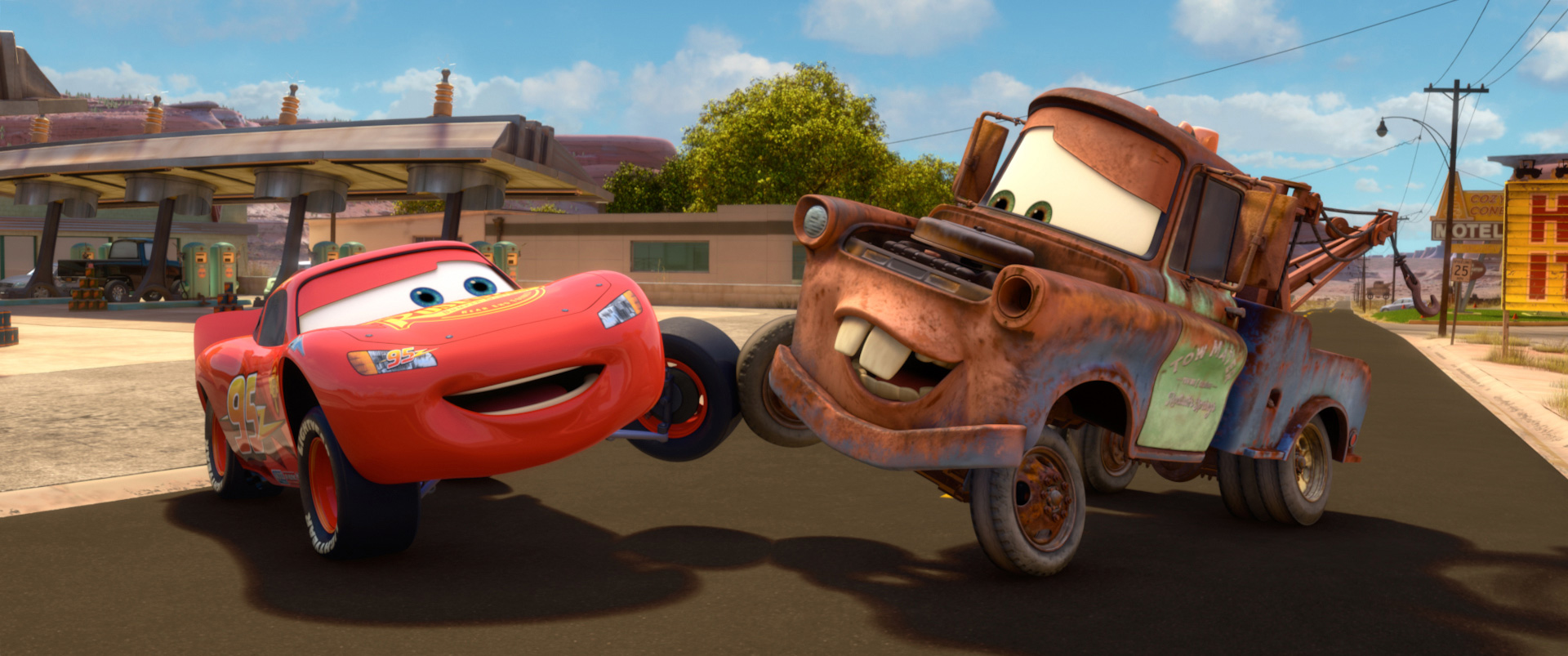 Mater relationships disney wiki fandom powered by wikia - Martin flash mcqueen ...