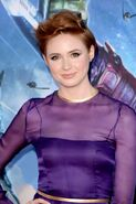 Karen Gillan Guardians of the Galaxy Hollywood Premiere