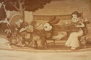 Mural Oswald cameo