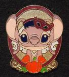 Tokyo Disney Sea (TDS) 2012 Halloween Game pin - Angel