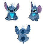 2018 Stitch Mini Bean Bag Plush