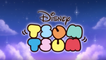 Disney Tsum Tsum Shorts Title Card