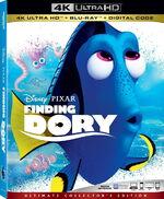 Finding Dory 4KUHD Blu-ray