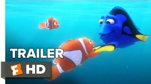 Finding Dory Official Trailer 1 (2016) - Ellen DeGeneres, Michael Sheen Animated Movie HD