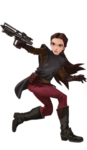 Forces of Destiny Hasbro Art - Padme