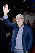 George Lucas SW Force Awakens premiere