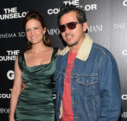 John Leguizamo & Carla Gugino at Counselor screening