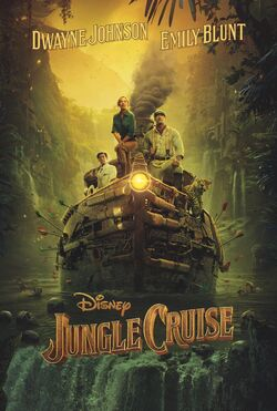 Jungle Cruise poster
