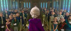 Krönungszeremonie Die Eiskönigin