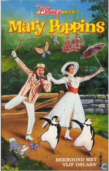 Mary Poppins 1990 Dutch VHS English Version