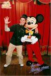 Mickey Egér És Izsó Gergő (Disneyland Paris) 2013