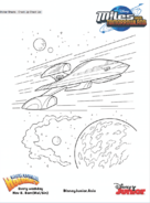 Miles from Tomorrowland colouring pages 2