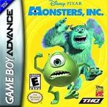 Monsters Inc GBA game