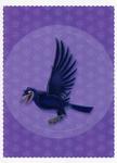 Panini Sticker Card - Wormwood