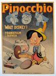 Pinocchio danish poster