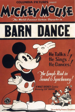 Poster of the movie The Barn Dance
