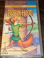 Robin Hood 2002 AUS VHS