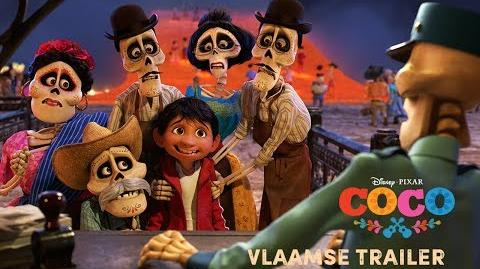 Coco Vlaamse Trailer Disney BE