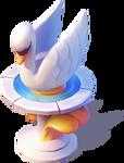 D-swan fountain
