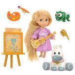 Disney Animator Collection Doll Mini Play Set Rapunzel