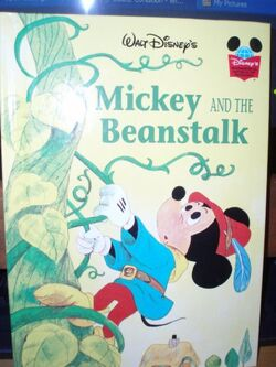 Mickey and the beanstalk wonderful world of reading