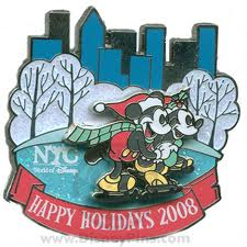 NYC Holidays Pin