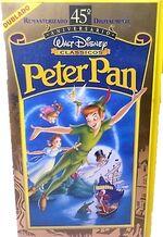 Peter Pan 1998 Brazil VHS